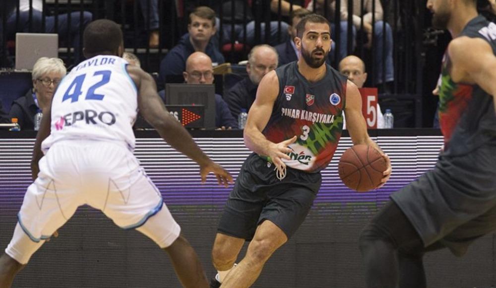 Pınar Karşıyaka, Donar'ı 79-62 mağlup etti