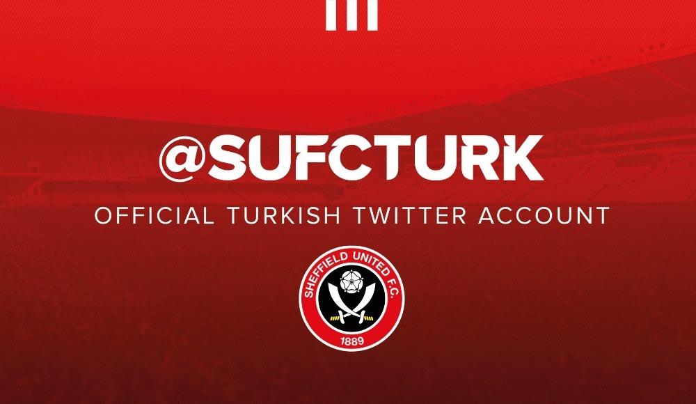 Sheffield United, Türkçe resmi hesap açtı!