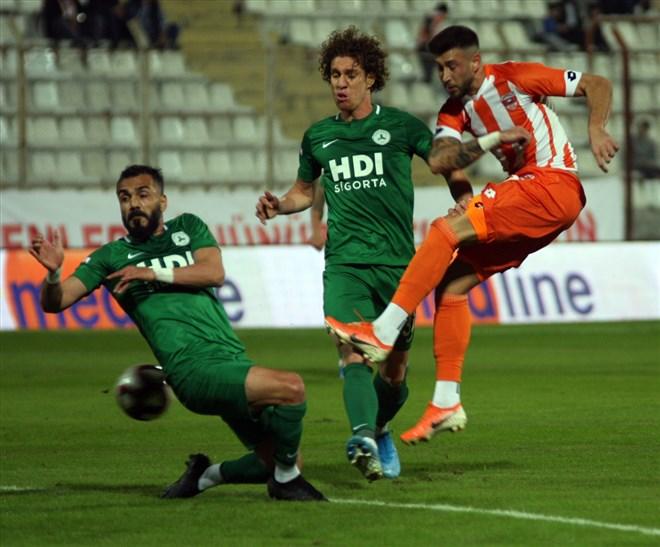 Adanaspor - Giresunspor maçında kazanan yok! 1-1