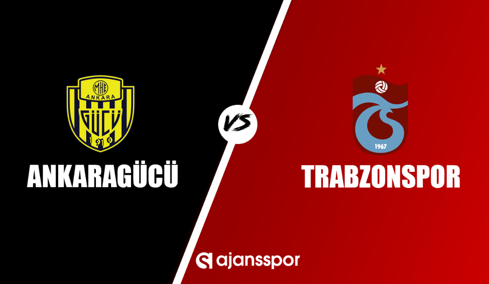 Ankaragücü - Trabzonspor  (Canlı Skor)