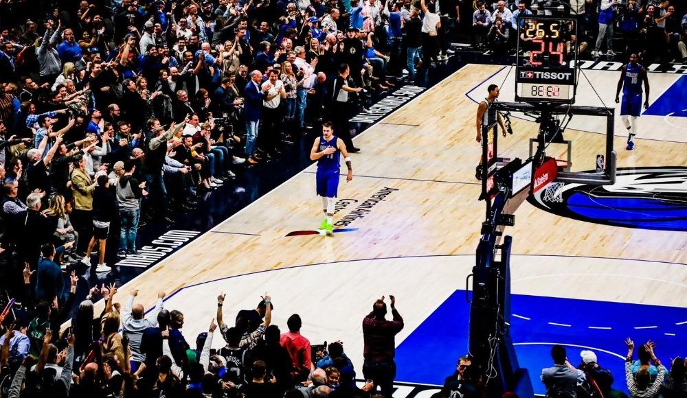 Doncic, NBA tarihine geçti!