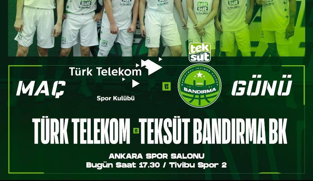 Türk Telekom - Teksüt Bandırma (Canlı Skor)