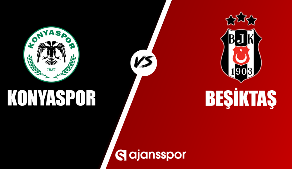 Konyaspor - Beşiktaş (Maç yayını)