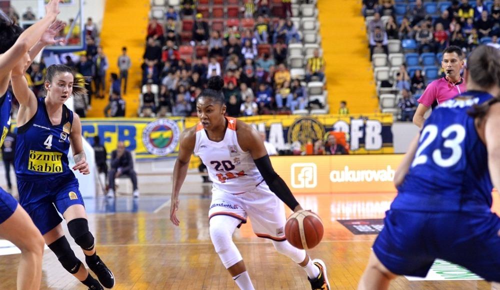 Fenerbahçe Öznur Kablo, deplasmanda Çukurova Basketbol'u mağlup etti!