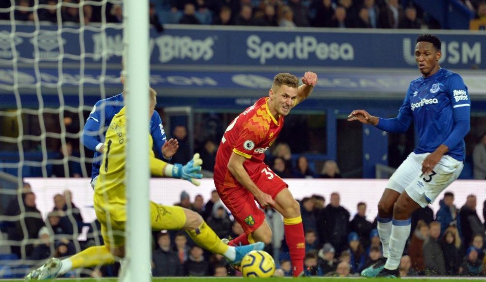 Norwich deplasmanda Everton'ı mağlup etti!