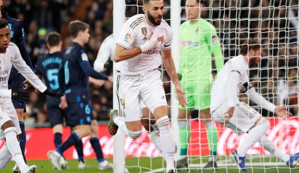 Real Madrid, Real Sociedad'a şans tanımadı! 3-1