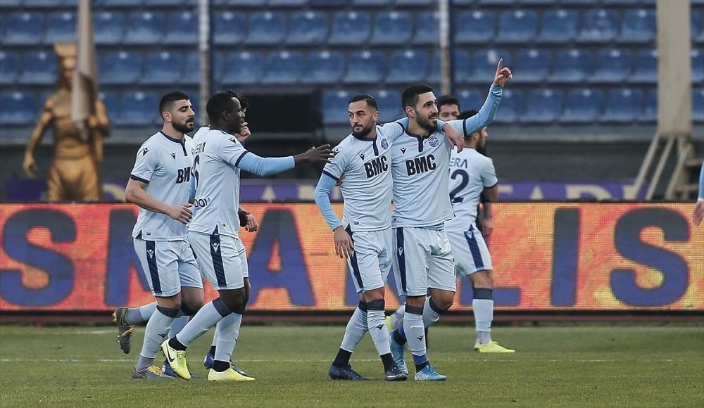 Adana Demirspor deplasmanda 5 gollü mücadeleyi kazandı!