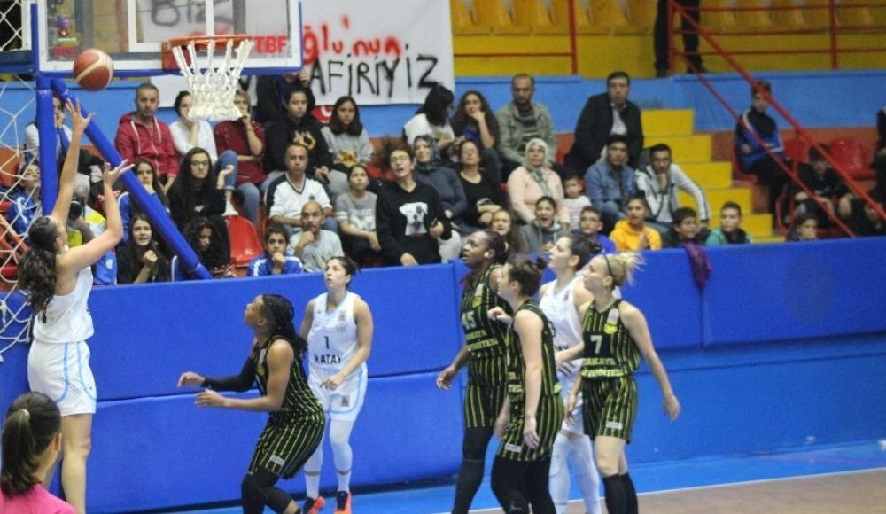 Çankaya Üniversitesi, Hatay Büyükşehir Belediyespor'u 76-70 yendi