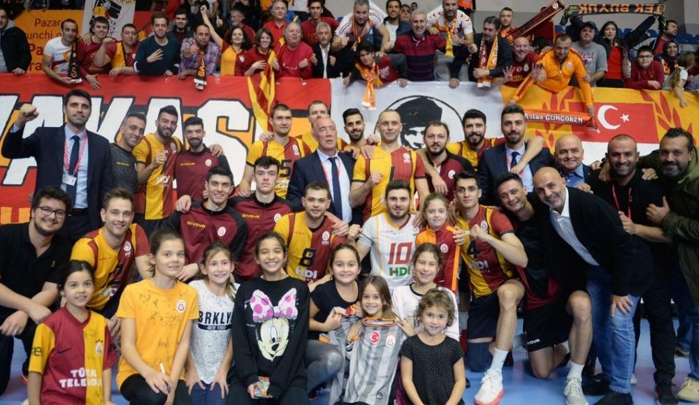 Galatasaray HDI Sigorta, Spor Toto'yu 3-0 yendi