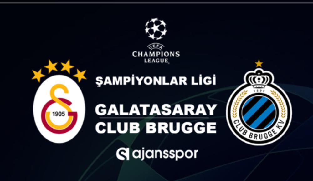 Galatasaray - Club Brugge (Canlı Skor)