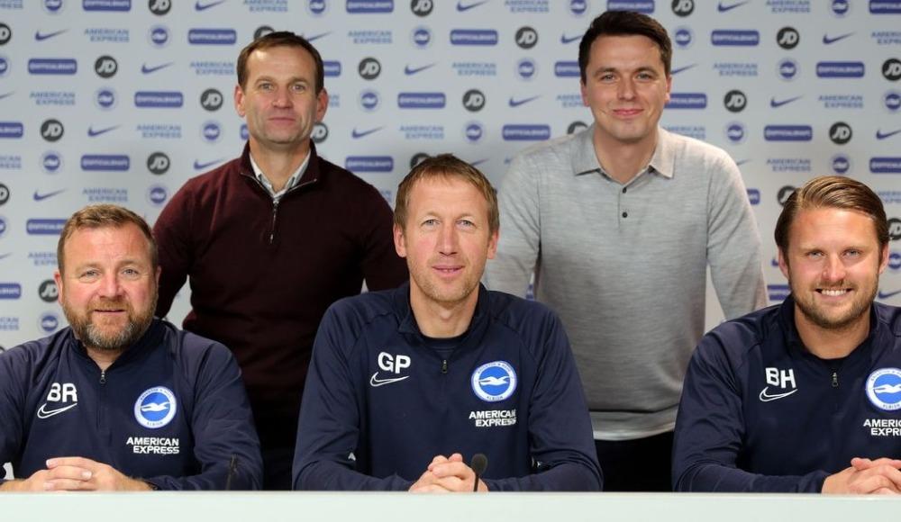 Brighton'da teknik direktör Graham Potter'ın sözleşmesi iki yıl uzatıldı