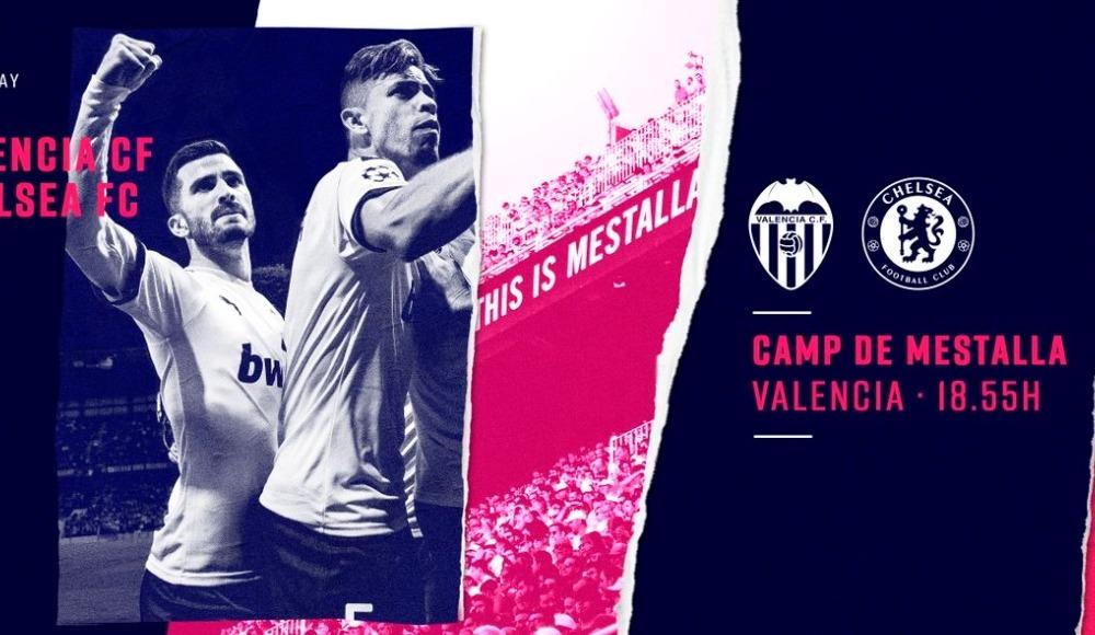 Valencia - Chelsea (Canlı Skor)