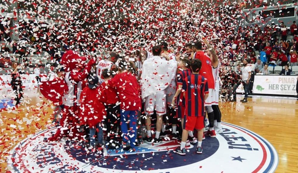 Bahçeşehir Koleji, CSU Sibiu'yu 80-71 mağlup etti