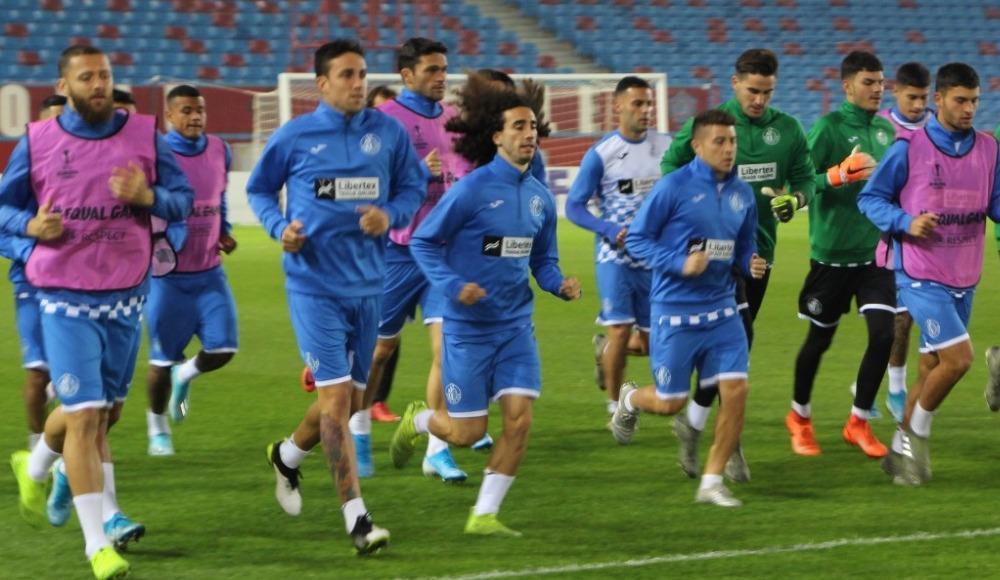 Getafe, Trabzonspor maçı hazırlıklarını tamamladı