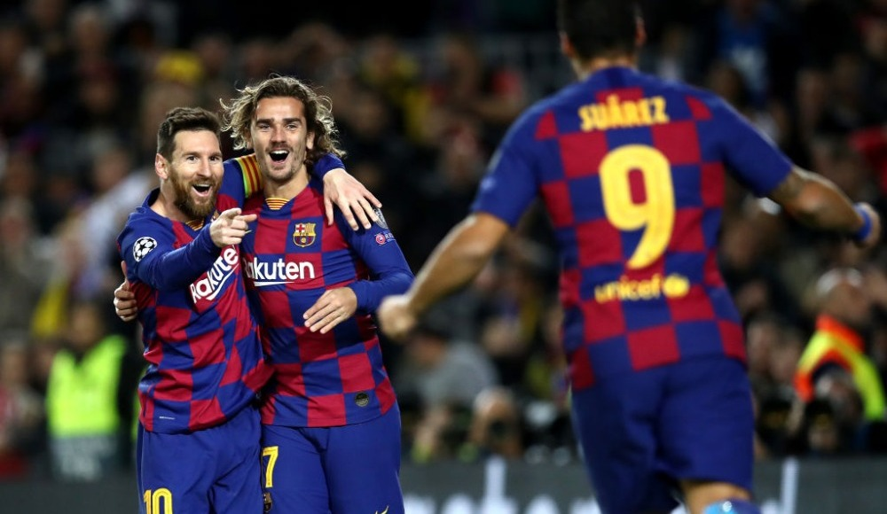 Camp Nou'da Messi resitali! 3-1