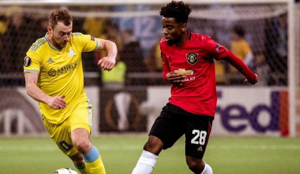 Astana'dan Manchester United'a şok! 7 dakikada...