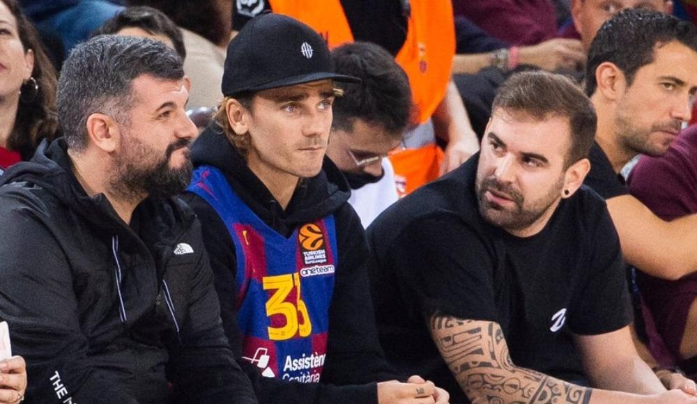 FC Barcelona oyuncuları, CSKA Moskova maçını takip etti