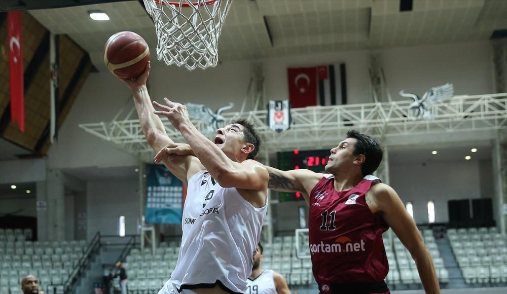 Beşiktaş Sompo Sigorta, konuk ettiği Sigortam.net İTÜ Basket'i 83-80 yendi