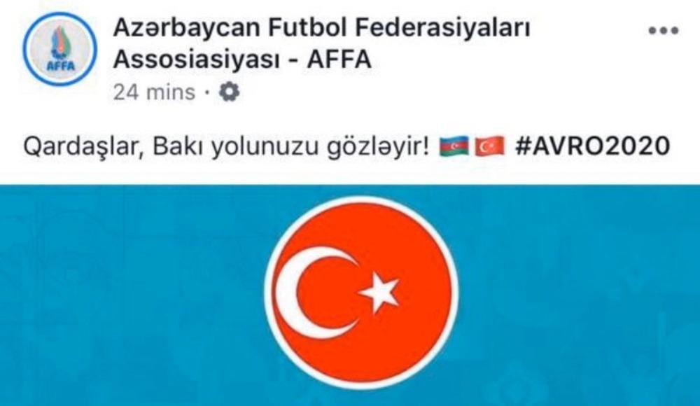 Azerbaycan Futbol Federasyonu'ndan EURO 2020 paylaşımı!