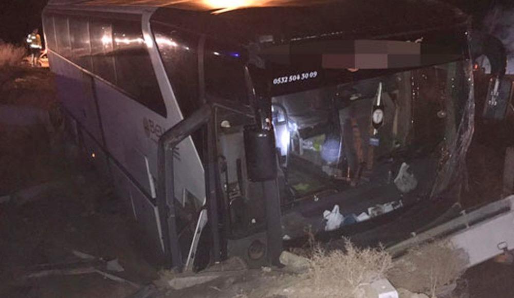 Adana dönüşü yaralanmalı kaza!
