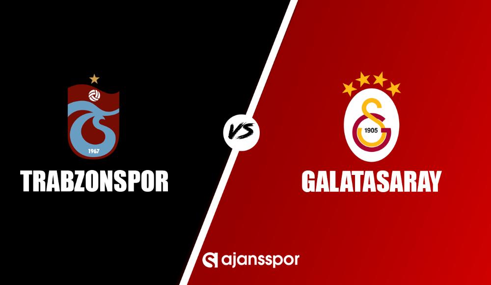 Trabzonspor Galatasaray maçı canlı yayın