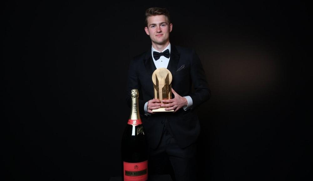 Kopa Trophy'nin sahibi de Ligt oldu!