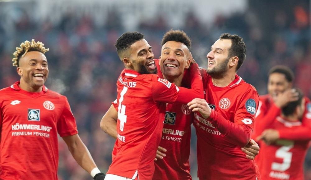 Mainz 05, sahasında Frankfurt'u 2-1 yendi