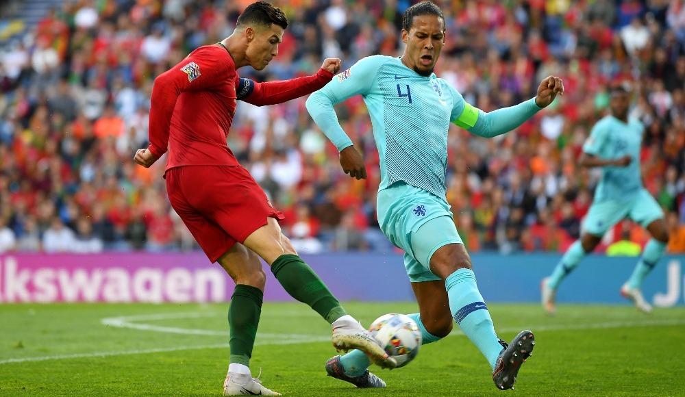 Ronaldo'nun ablasından Van Dijk'a yaylım ateşi!
