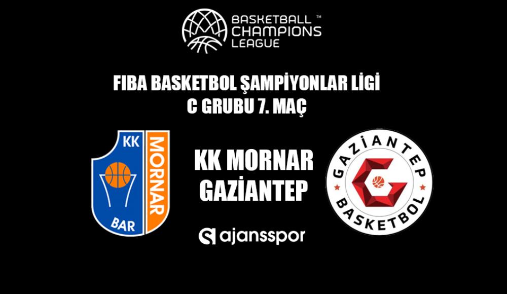 Mornar - Gaziantep Basketbol CANLI İZLE