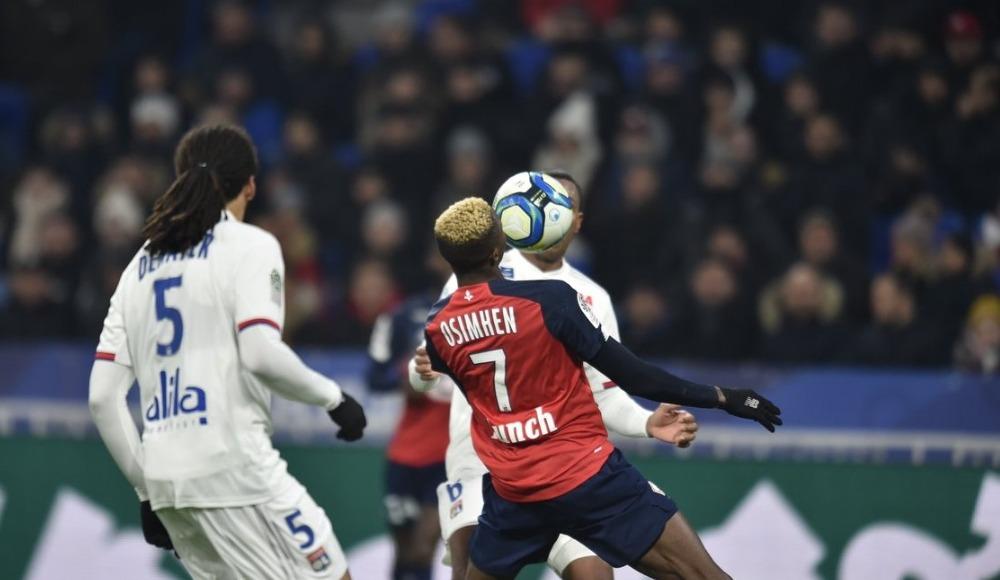 Lille, deplasmanda Lyon'u devirdi! 0-1