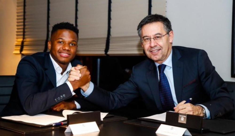 Barcelona, Ansu Fati'nin sözleşmesini uzattı!