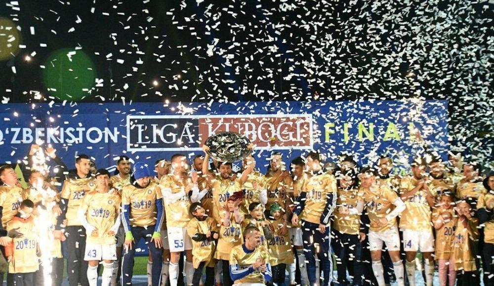 Şota, Özbekistan'da üçüncü kupayı da aldı