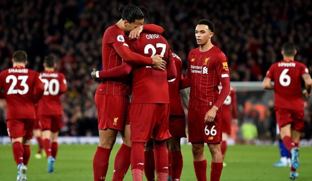 Liverpool, Everton engelini 5 golle geçti