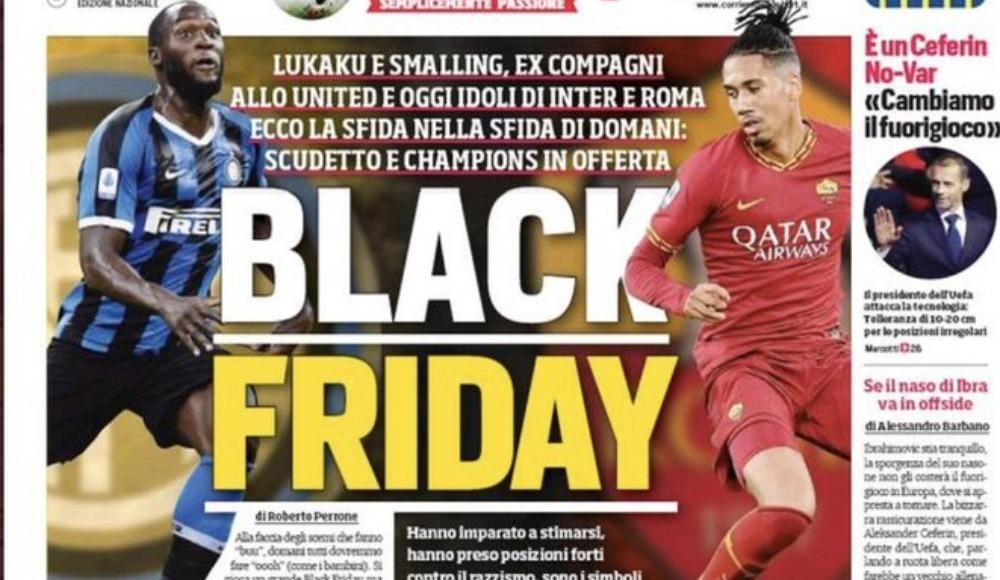 İtalya'da skandal manşet!