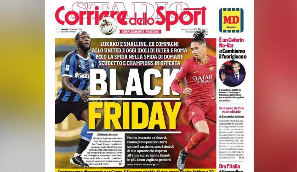 İtalya'da ırkçılık tartışmaları alevlendi! Flaş manşet...