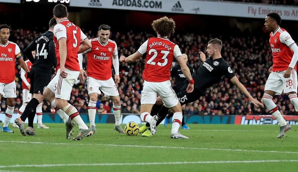Arsenal, Brighton'a kaybetti! 7. kez...