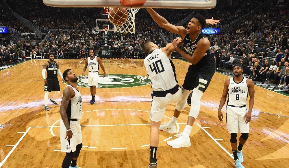 NBA'de Milwaukee Bucks'tan üst üste 14. galibiyet!