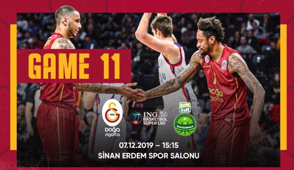 Galatasaray Doğa Sigorta - Teksüt Bandırma (Canlı Skor)