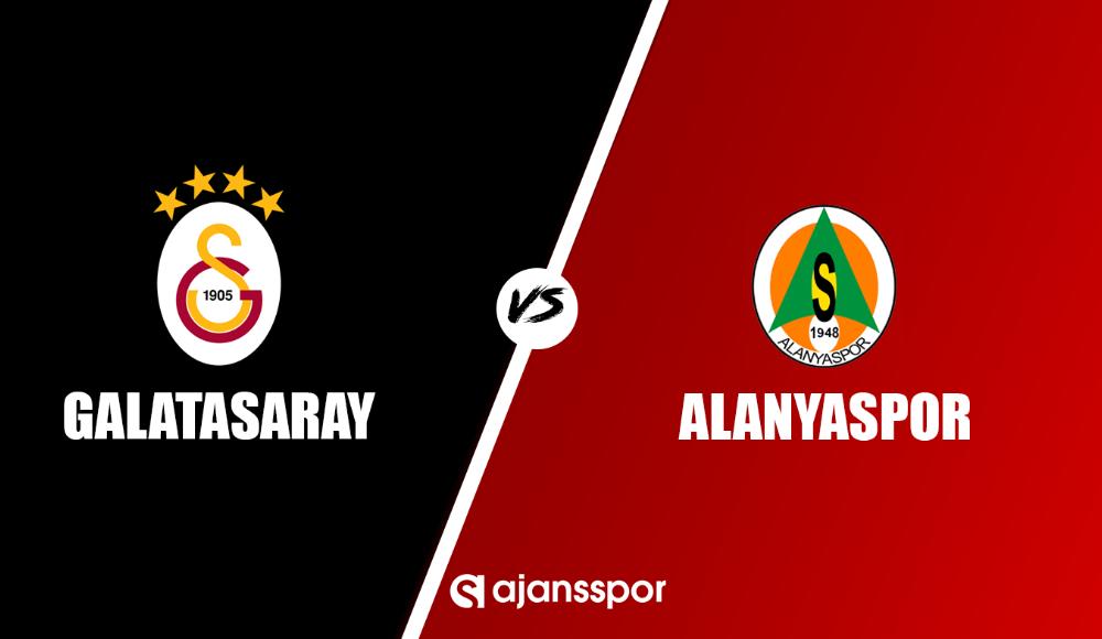 Galatasaray - Alanyaspor (Canlı izle)
