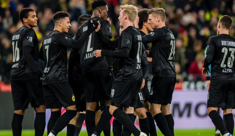 Jadon Sancho hat-trick yaptı, Dortmund farklı kazandı!