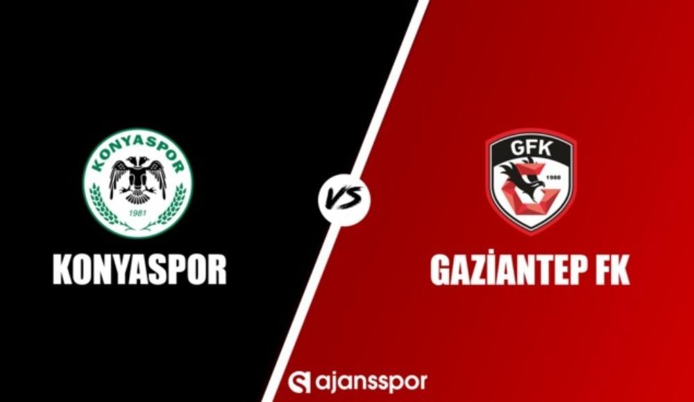 Konyaspor - Gaziantep FK  (Canlı izle)