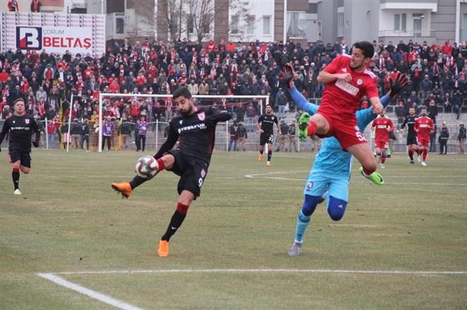 Yeni Çorumspor sahasında Samsunspor'u 2-1 mağlup etti