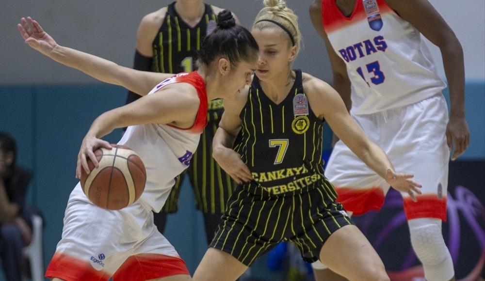 Çankaya Üniversitesi, BOTAŞ'ı 71-61 mağlup etti