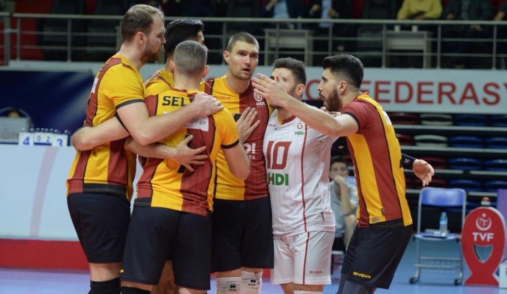 Galatasaray HDI Sigorta'dan galibiyet