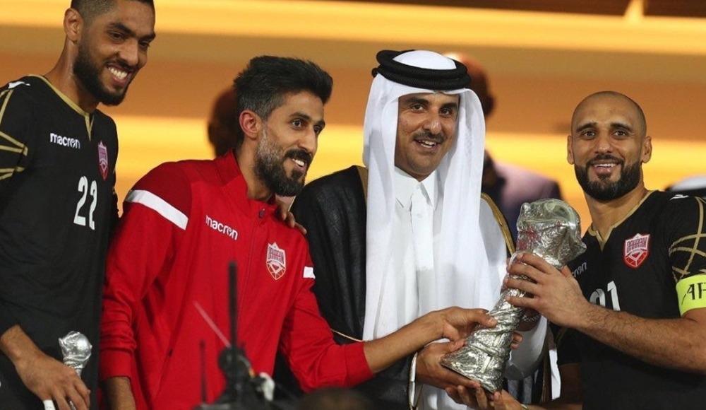 Katar ve Kuveyt'ten, 24. Körfez Ulusları Kupası şampiyonu Bahreyn'e tebrik