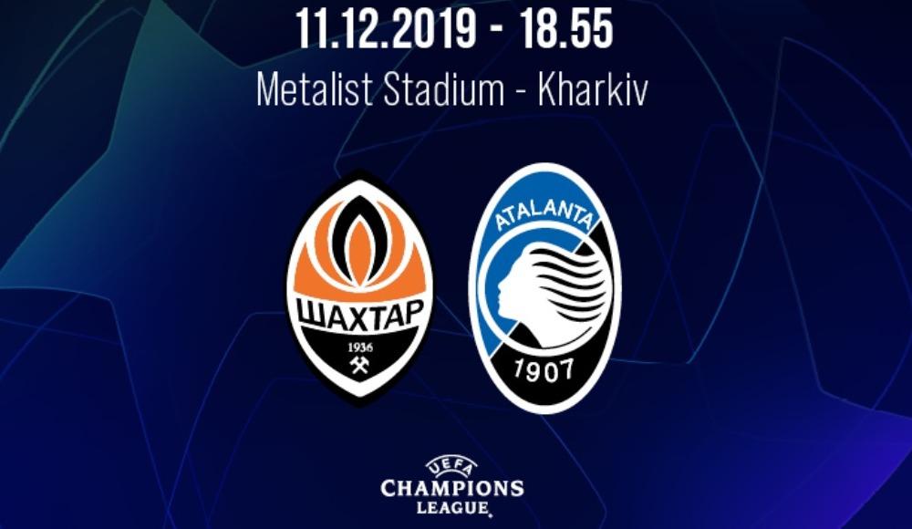 Shakhtar Donetsk - Atalanta (Canlı Skor)
