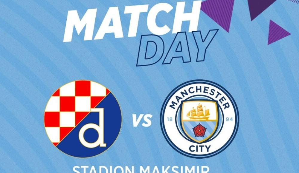 Dinamo Zagreb - Manchester City (Canlı Skor)