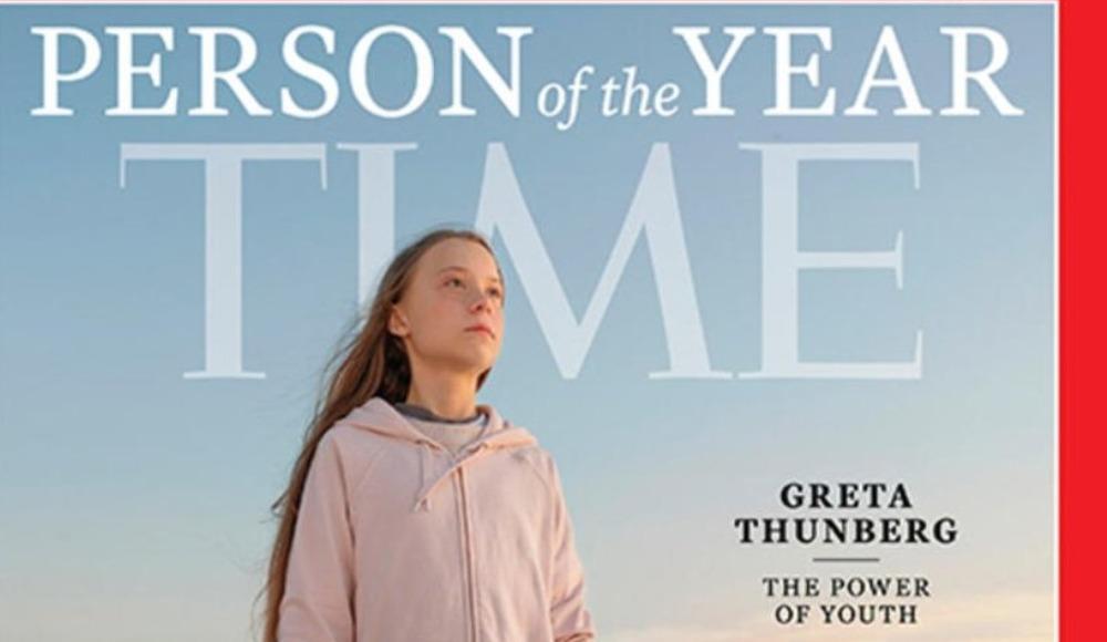 Greta Thunberg TIME Dergisi'nde 2019 yılın kişisi seçildi