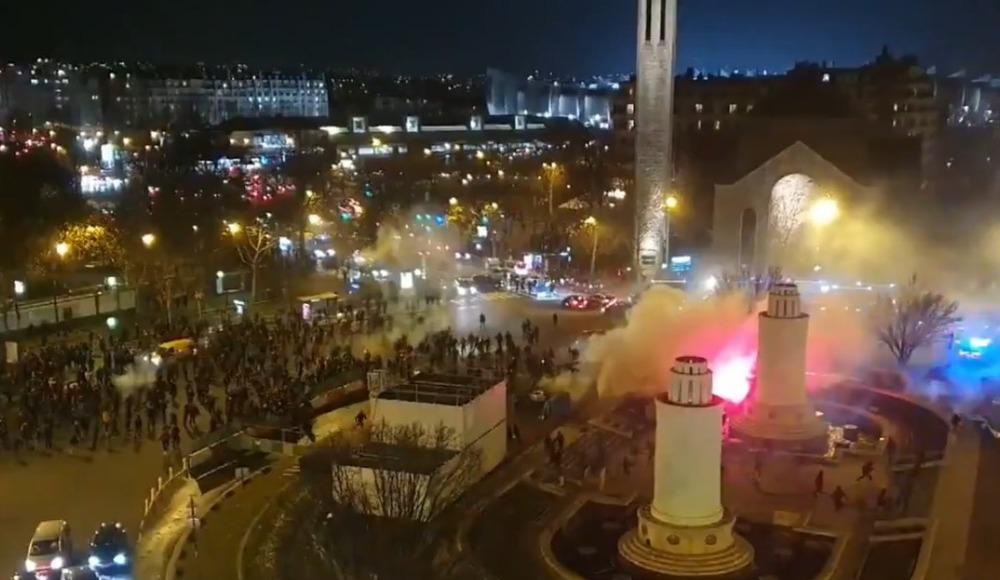 Paris'te Galatasaray taraftarlarına şok saldırı!