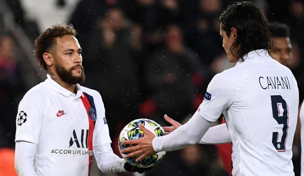 Neymar'dan Cavani'ye penaltı jesti!